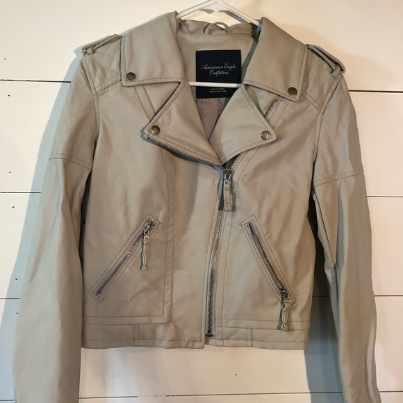 American Eagle Outfitters Jackets & Blazers - American Eagle Leather jacket